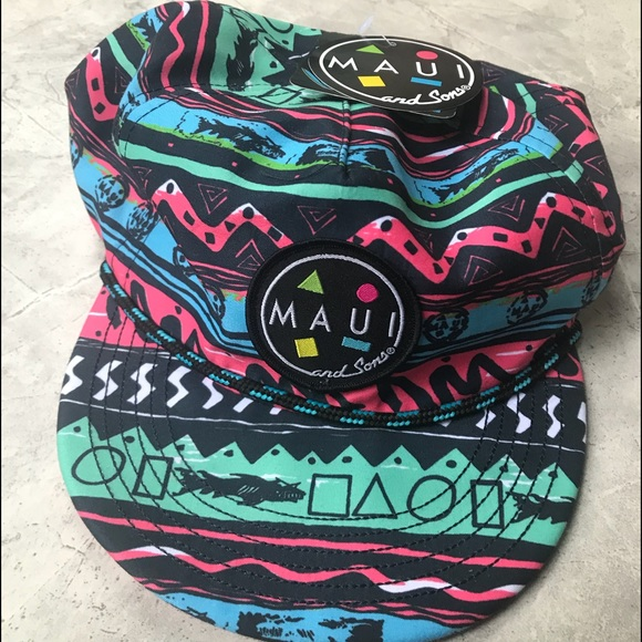 "90s Style ""Gnarly"" Beach Hat Boutique c79d28d4c76"